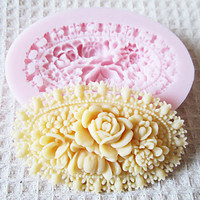 3D Flower Silicone Mold Fondant Molds Sugar Craft Tools Chocolate Mould For Cakes