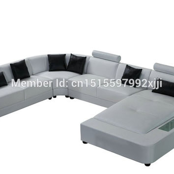 2016 Beanbag Set Modern No Real Rushed Armchair Bean Bag Chair First Grade Leather Sofa Designs For Living Room 2212