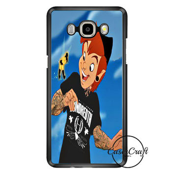 Peter Pan And Tinkerbell With Tattoo Samsung Galaxy J7 Case