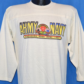 80s Army Navy Game Rose Bowl 1983 Deadstock t-shirt Medium