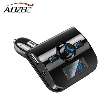 FM Transmitter Bluetooth Handsfree Car Kit FM Modulator Mp3 Player Car-styling Support U Disk TF Card With 3.1A USB Charger