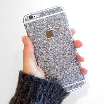 Glitter iPhone Skin Decal Wrap