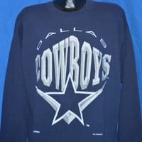 90s Dallas Cowboys Crewneck Sweatshirt Large