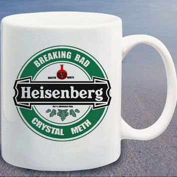 Breaking Bad Heisenberg logo custom mug,coffee mug,tea mug,cup mug