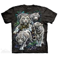 Majestic White Tigers T-Shirt