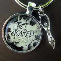 Get Scared Key Chain
