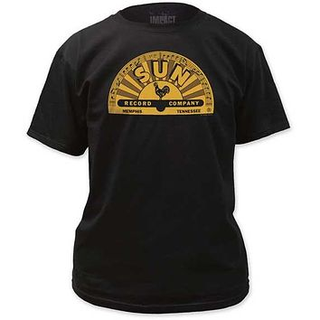 SUN RECORDS MEMPHIS LOGO MENS TEE