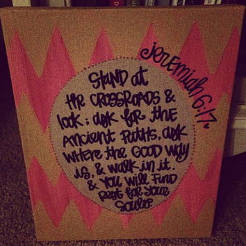 custom bible verse canvas