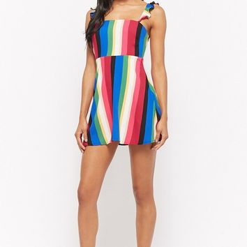 Multi-Striped Mini Dress