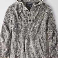 AEO Men's Baja Sweater (Heather Grey)