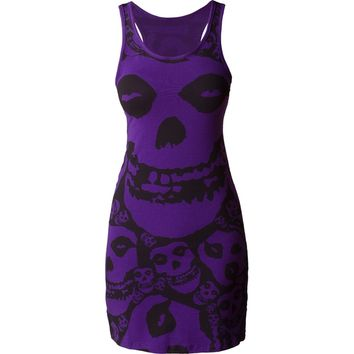 Purple Misfits Women's Dress | TeeShirtPalace
