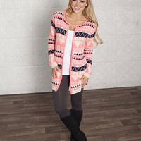 Flashy Neon Aztec Sweater