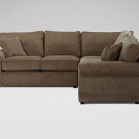 Retreat Sectional, Maxwell/Nutmeg