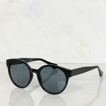 Contemporary Sunglasses Black