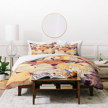 Bree Madden Fallen Leaves Duvet Cover