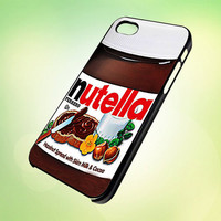 nutella jar HP568 Design  Cover For iPhone 4 by digitalcustom
