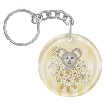 Cute Animal Keychains for Baby Shower, Little Girl Birthday, or Chrismas: Kawaii Baby Koala
