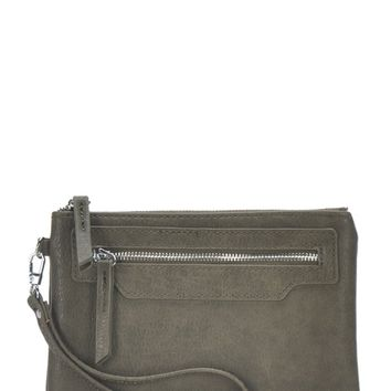 Day Date Clutch - Olive