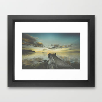 Dating Alice in wonderland Framed Art Print by HappyMelvin | Society6