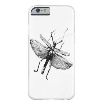 bug in black and white original photography barely there iPhone 6 case