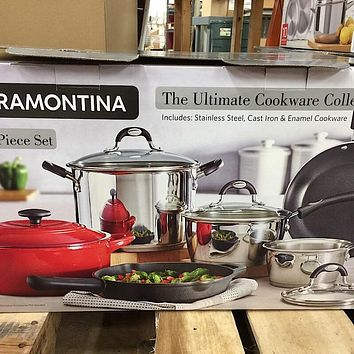 Tramontina 10-piece Ultimate Cookware Set