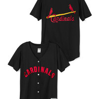 St. Louis Cardinals Button-Up Jersey - PINK - Victoria's Secret