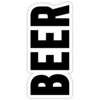 Beer Sticker | FreshTS by FreshThreadShop