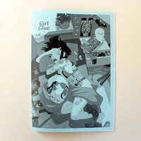 Girl Glue zine - Issue #1 - Various Artists Art Collection
