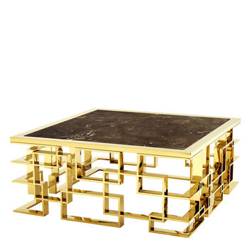 Eichholtz Spectre Coffee Table - Brass
