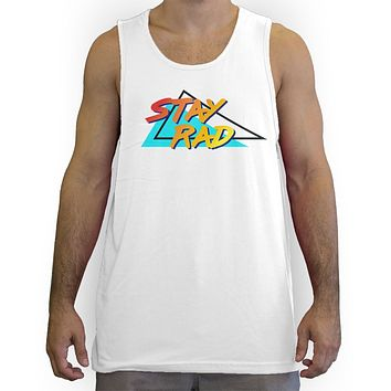 Function - Stay Rad 80's Men's Fashion Tank Top