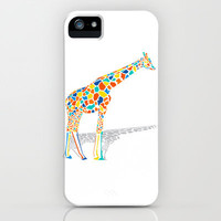 Technicolor Giraffe iPhone & iPod Case | Print Shop