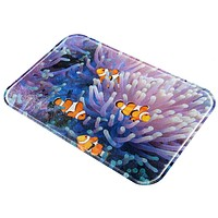 Clownfish Sea Anemone All Over Glass Cutting Board
