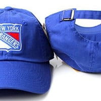 New York Rangers NHL Hockey Cap American Needle Cotton Twill One Size