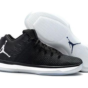 Air Jordan Xxxi Retro Aj31 Black Cat Men Basketball Sneaker - Beauty Ticks