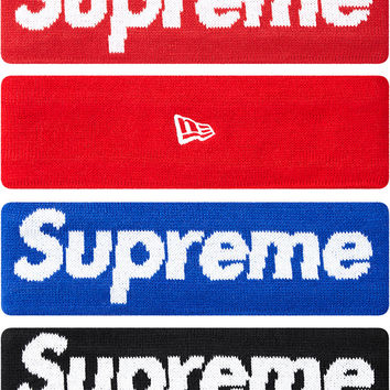 Supreme Supreme/New Era Fleece Lined Headband