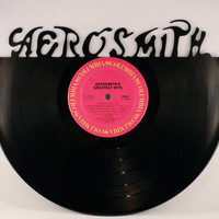 Recycled Vinyl Record AEROSMITH Wall Art
