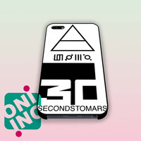 30 Second to Mars Logo iPhone Case Cover | iPhone 4s | iPhone 5s | iPhone 5c | iPhone 6 | iPhone 6 Plus | Samsung Galaxy S3 | Samsung Galaxy S4 | Samsung Galaxy S5