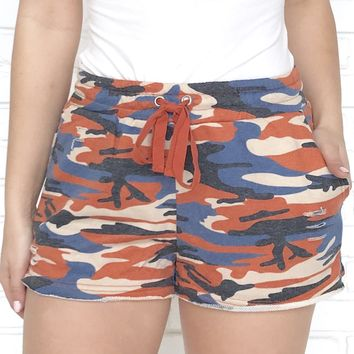 Attention Camo Shorts