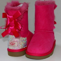 Custom Swarovski Children's/Toddler Ugg Boots