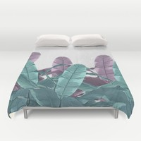 CONCRETE JUNGLE  Duvet Cover by Nika