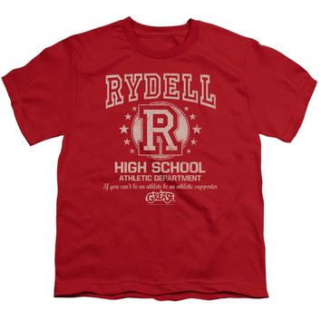 Grease - Rydell High Short Sleeve Youth 18/1