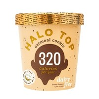 Halo Top Oatmeal Cookie Ice Cream - 1pt