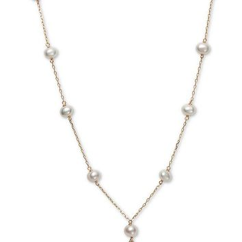 Macy's Children's Cultured Freshwater Pearl (5mm) 14