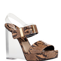 MICHAEL KORS Carmela Runway  - Tan Sandals - ShopBAZAAR