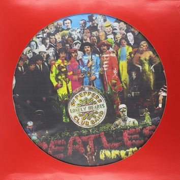 The Beatles - Sgt. Pepper's Lonely Hearts Club Band [LP] Picture Disc
