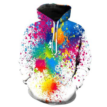 zminors 3d Sweatshirts Men/Women Hoodies With Hat Print Stars Nebula Autumn Winter Loose Thin Hooded Hoody Tops