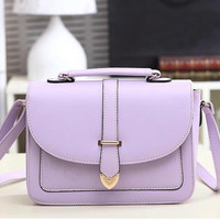Fashion Women's Candy Color Shoulder Bag Messenger Crossbody Bag Handbag