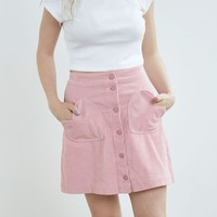 Lazy Oaf Heart Cord Skirt - Everything - Categories - Womens