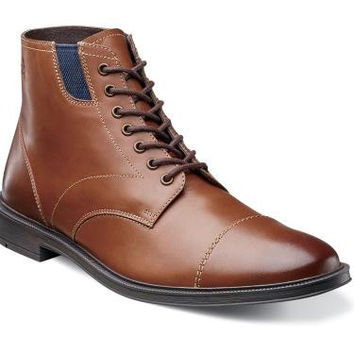 Dowling Cap Toe Boot by Stacy Adams