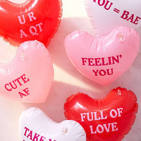Inflatable Message Hearts Set - Urban Outfitters